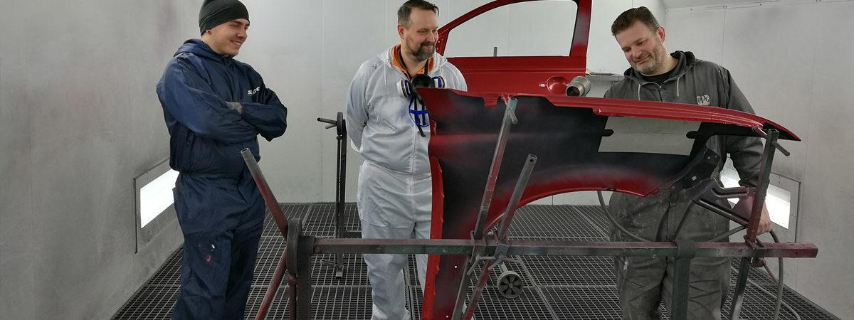 Pro-Väri - blogi - Pinnalla nyt - Esittelyssä asiakkaamme Automaalaamo JL Autohoito Oy