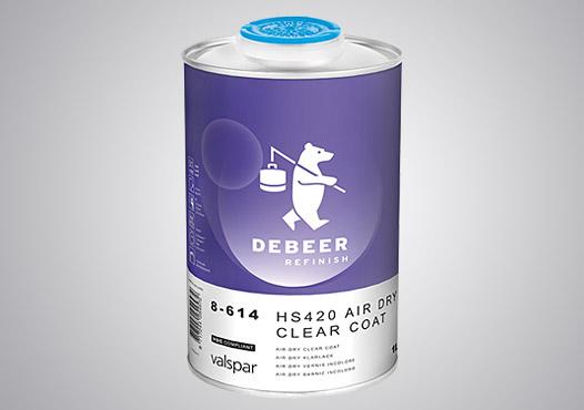 Pro-Väri - tuote - DeBeer HS420 Air Dry kirkaslakka 3:1 5 l