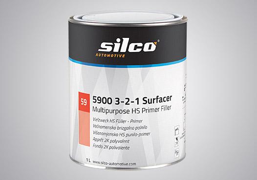 Pro-Väri - tuote - Silco 3-2-1 märkää märälle pohjamaali - harmaa 3,5 l