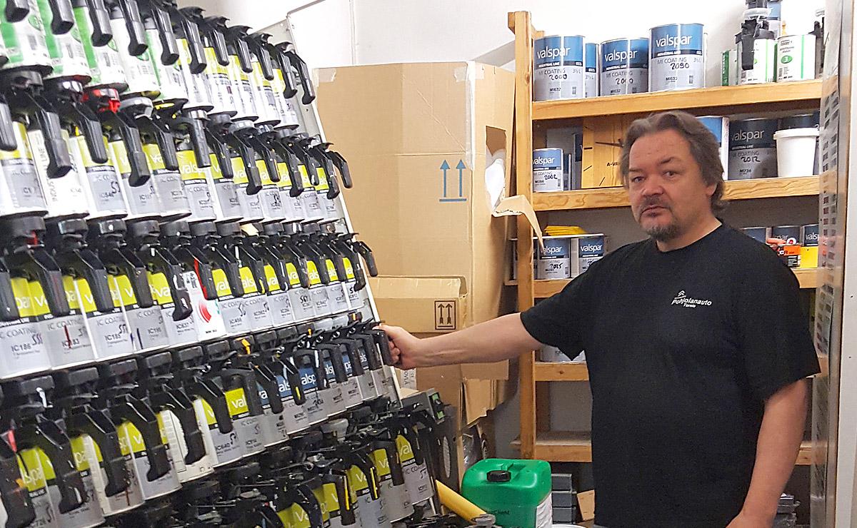 Pro-Väri - blogi - Pinnalla nyt - Pohjolan-Auto - Markku Määttä